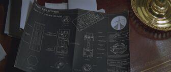 Nerve Gas Weapon Plans (Moonraker)
