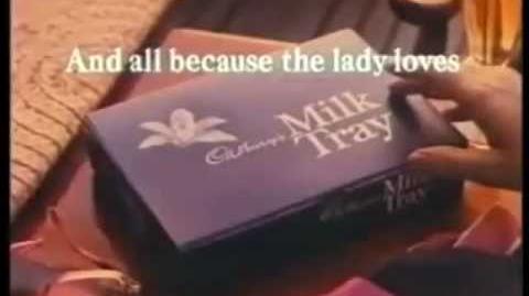 Cadburys Milk Tray advert 1978