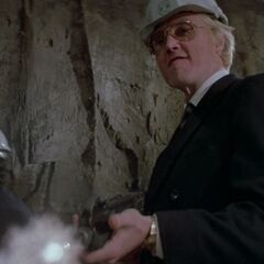 Zorin guns down his workers.