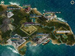 WoE - Jamaica Map