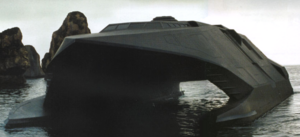 Stealth Boat Model