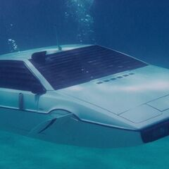 The Lotus Esprit submersible, as seen in the film.