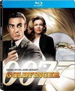 Goldfinger (2009 Blu-ray SteelBook)