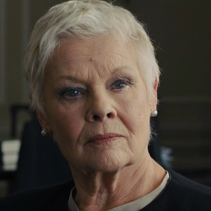 Judi Dench James Bond