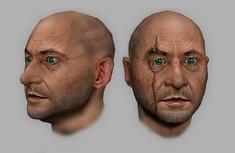 Blofeld head render (GoldenEye - Rogue Agent)