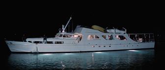 Disco Volante at night