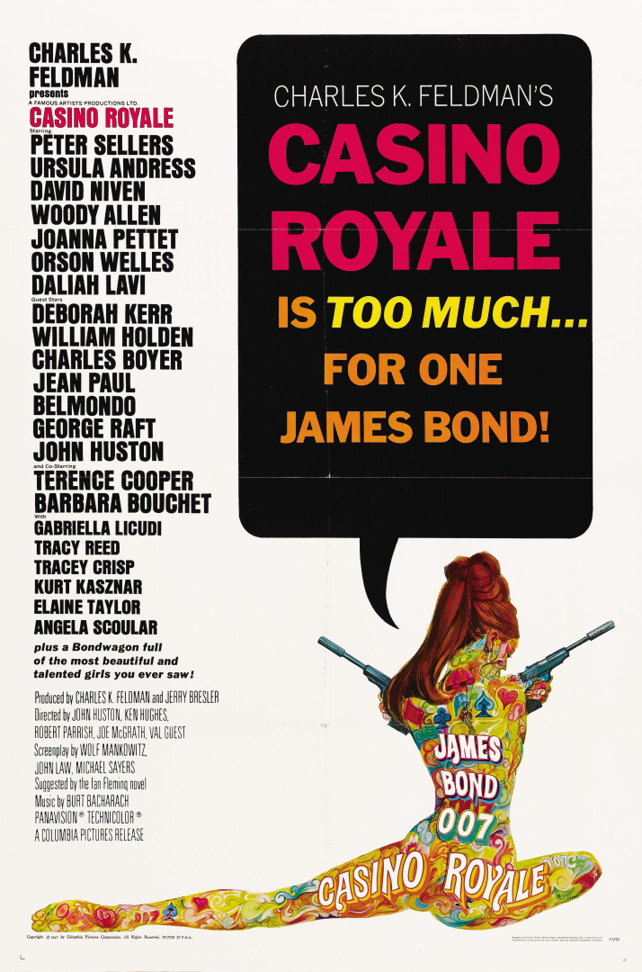 Casino royale soundtrack 1967 film high roller casino xbox cheats