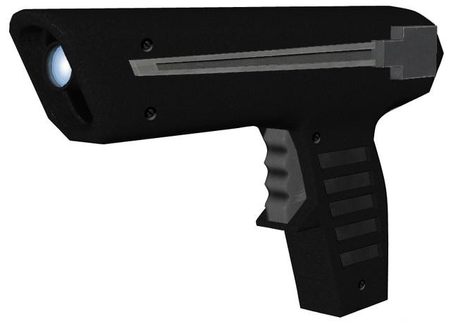 File:Moonraker Laser Pistol (007 Legends).png