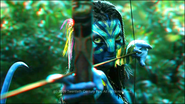 Neytiri shooting (redcyan) photoshop