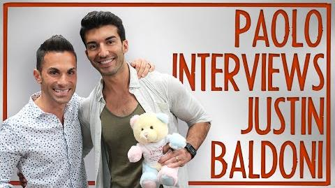 "Justin Baldoni on ""Jane the Virgin"" & new app Belly Bump!"