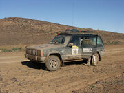 Muddy jeep morocco