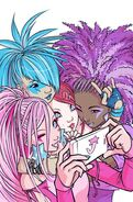 IDW Jem and the Holograms Issue 3 cover A art
