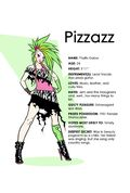 IDW Pizzazz character bio