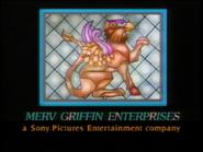 Merv Griffin Enterprises logo with Sony byline-2