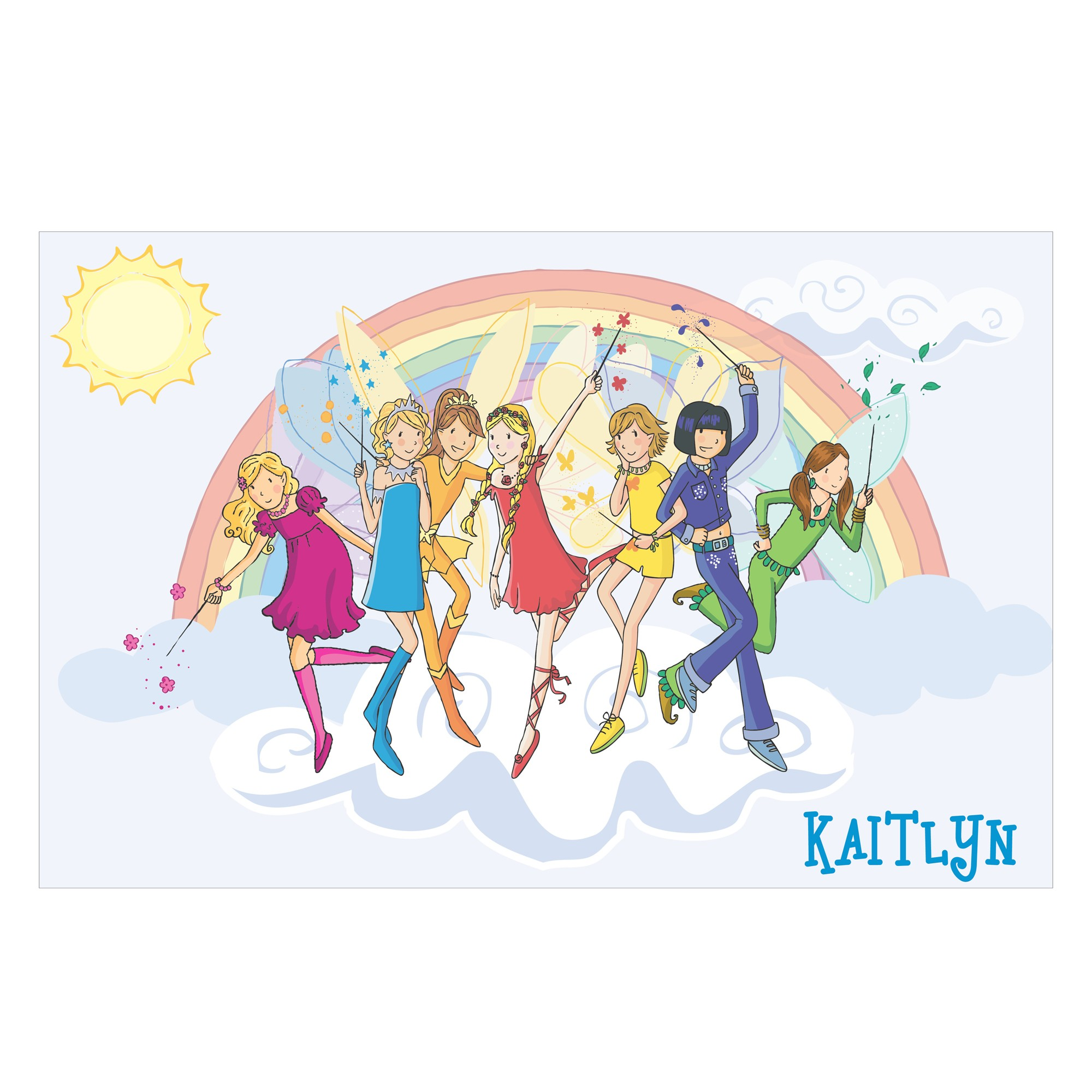 Rainbow magic fairy coloring pages printable - Rainbow Magic Fairy Coloring Pages Printable 22