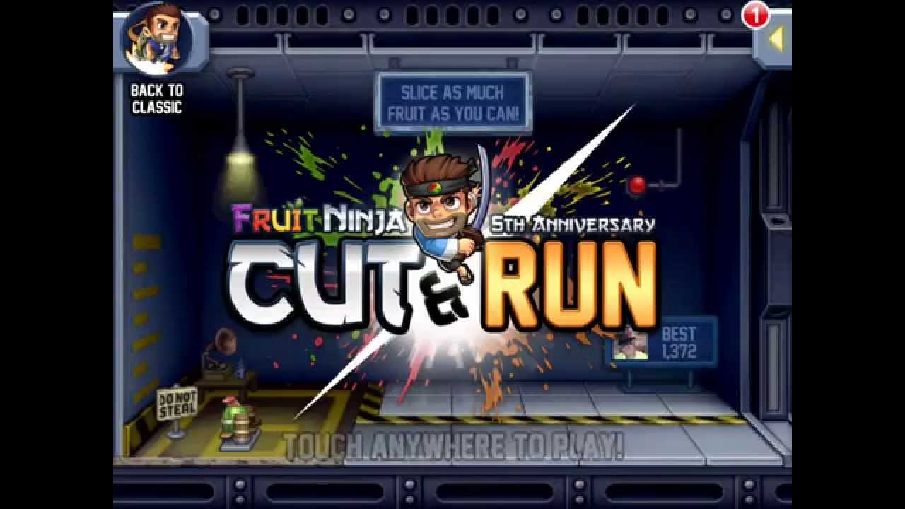 Ninja fruit cut - Cut Run Is An In Game Event Of Jetpack Joyride This Event Is Part Of The 5th Anniversary Of Fruit Ninja It Is Accessed In The Home Screen And Selecting