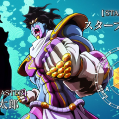 Star Platinum: The World's stats in <a href=
