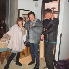 Araki and Shoko Nakagawa/Shizu going out for Italian