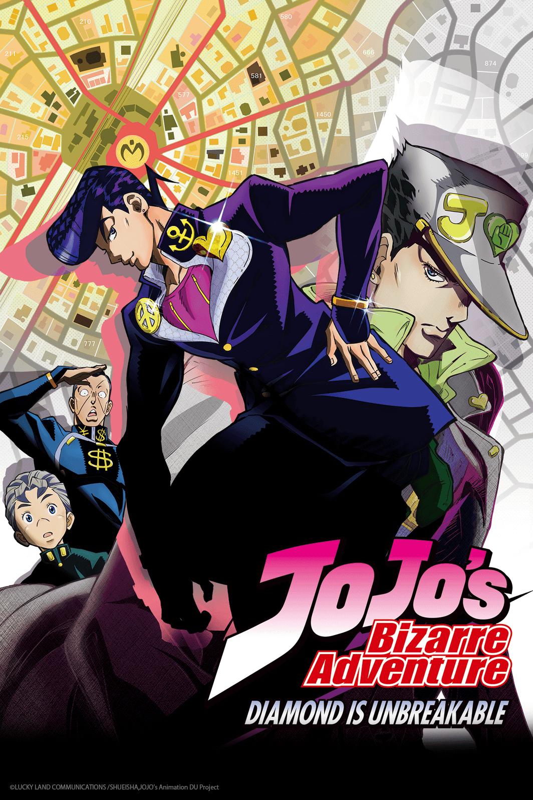 Image result for jojo's bizarre adventure diamond is unbreakable