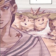 Kira's star-shaped birthmark