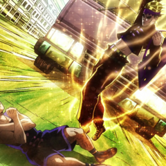 Rohan risking his life to protect Ken.