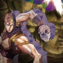 Kars in the ending credits moved leftward after Esidisi dies (<a href=