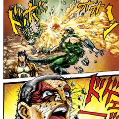 frame|Donovan is tricked (manga version)