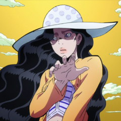 Yukako's deformed body after failing to apply Cinderella's lipstick.