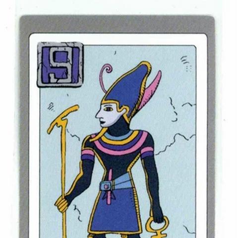 Atum God Card