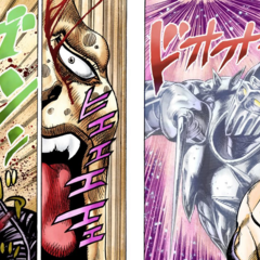 J. Geil died for Polnareff's