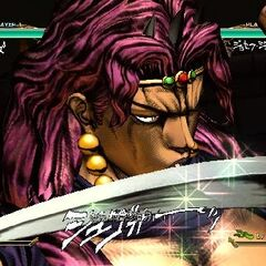 Kars executing his HHA, <i>ASB</i>