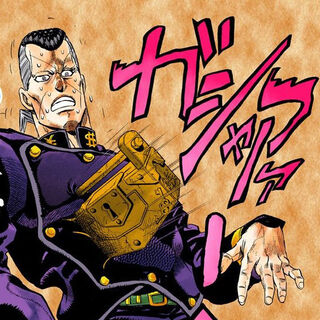 The Lock on Okuyasu, after feeling guilty for punching Tamami