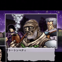 In the game, joined by his apprentices
