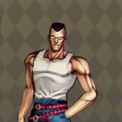 Okuyasu Costume A in <i>All-Star Battle</i>