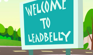 Leadbelly Sign