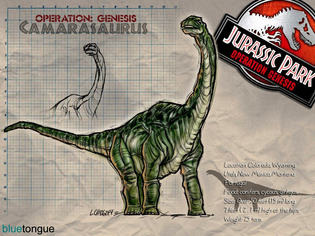camarasaurus jurassic park operation genesis wiki