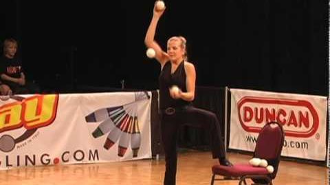 Joëlle Huguenin's Performances at WJF 5