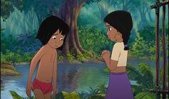 Shanti feels sorry Mowgli got in trouble