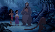 Mowgli and all his friends
