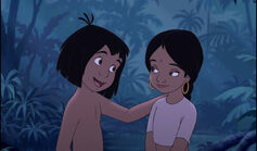 Mowgli and Shanti are both best friends together