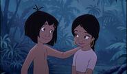 Mowgli and Shanti Best Friends