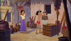 Mowgli and Shanti both saw Ranjan pop out