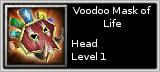 Voodoo Mask of Life quick short