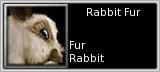 Rabbit Fur quick short