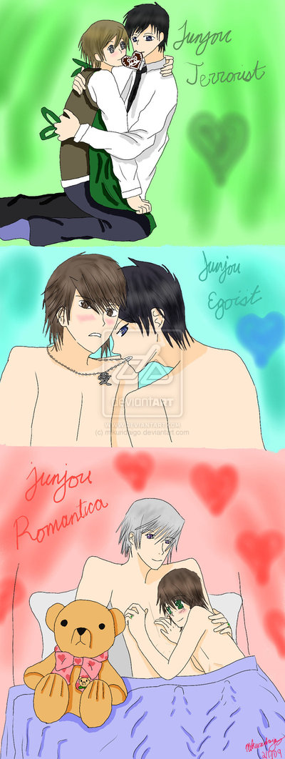 Happy Junjo Valentine s Day by Junjou Romantica
