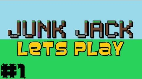 Junk Jack Let's Play - Junk Jack Let's Play - Junk Jack Let's Play Episode 1 Awww! Bunny rabbit!