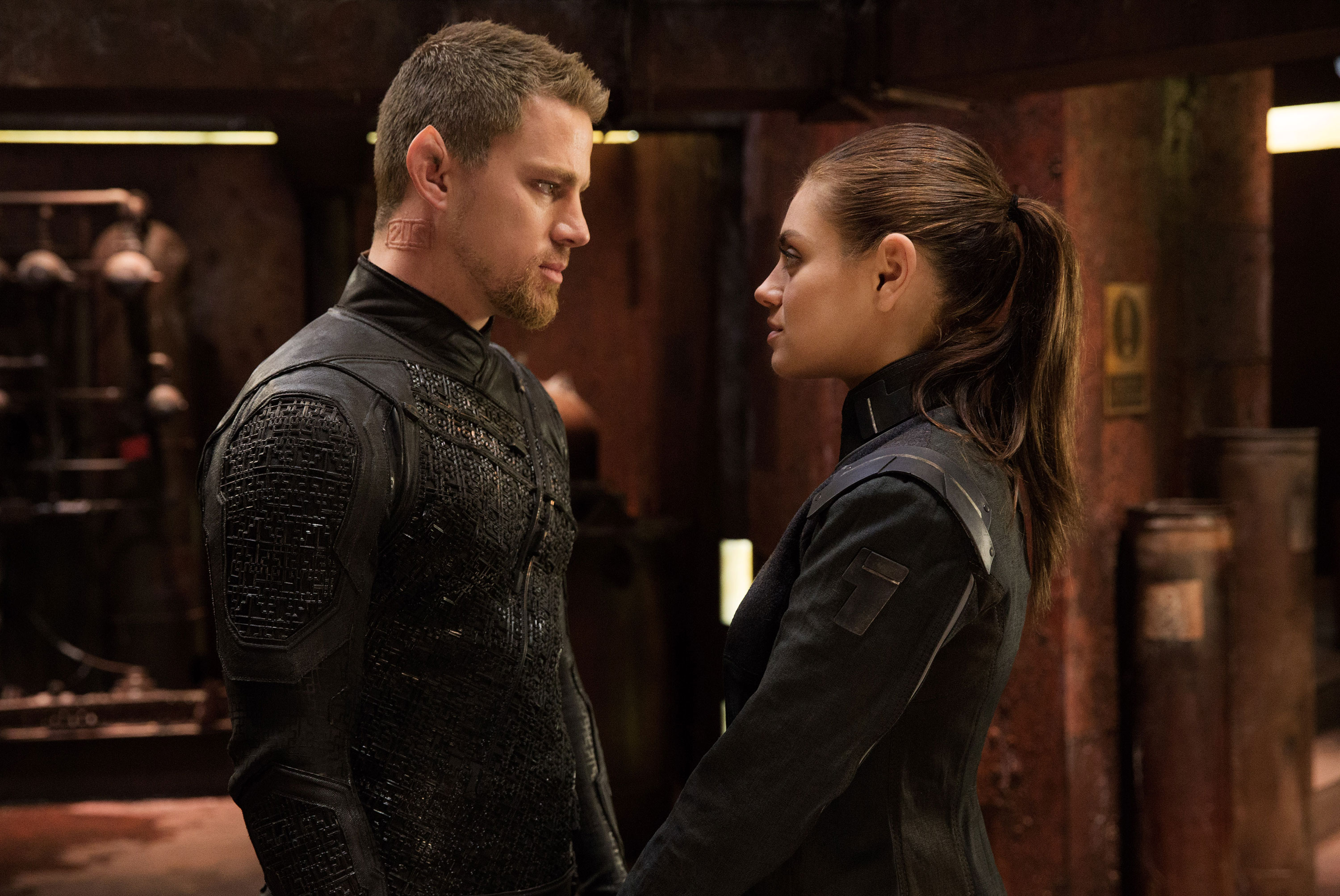 Channing Tatum & Mila Kunis in Jupiter Ascending