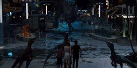 Raptors vs I-Rex Main Street Showdown