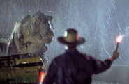 Grant Distracts Tyrannosaurus