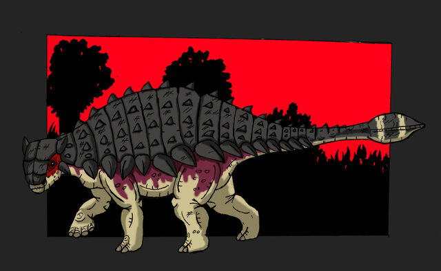 File:Ankylosaurus Fanart by Hellraptor.jpg